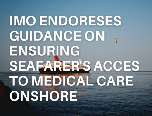 IMO endorses guidance on ensuring seafarers' access to medical care onshore